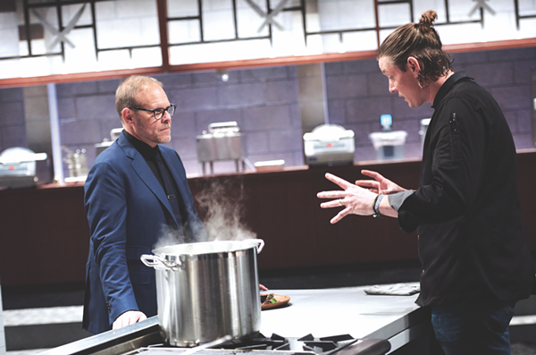 Will Alton Brown be Dady's biggest foe? - COURTESY OF FOOD NETWORK