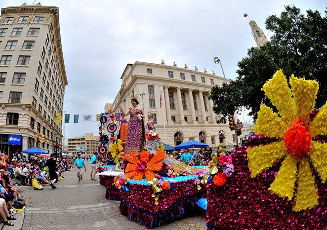 COURTESY OF BATTLE OF FLOWERS PARADE