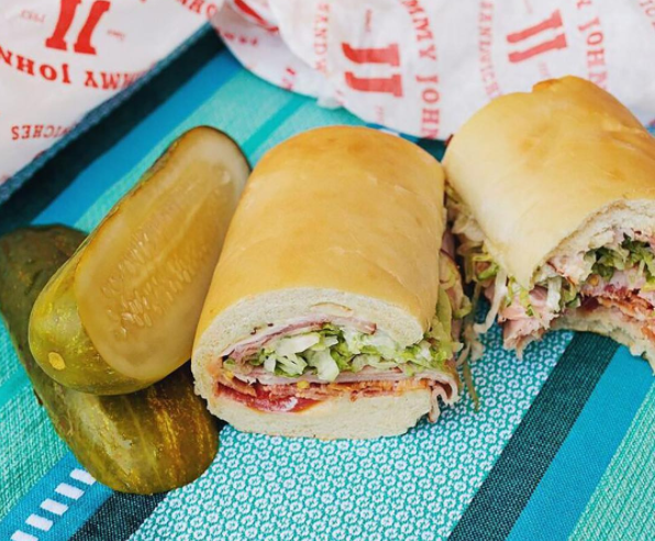 PHOTO VIA INSTAGRAM, JIMMY JOHN'S