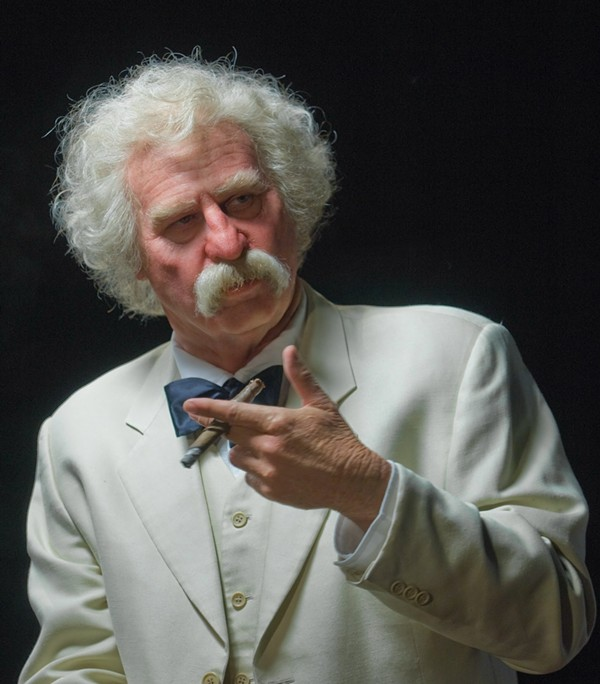 Kilmer as Twain. - COURTESY