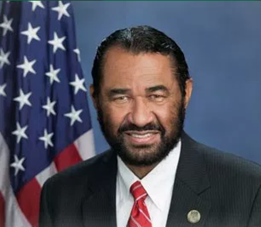 Rep. Al Green -  SCREENSHOT VIA ALGREEN.ORG