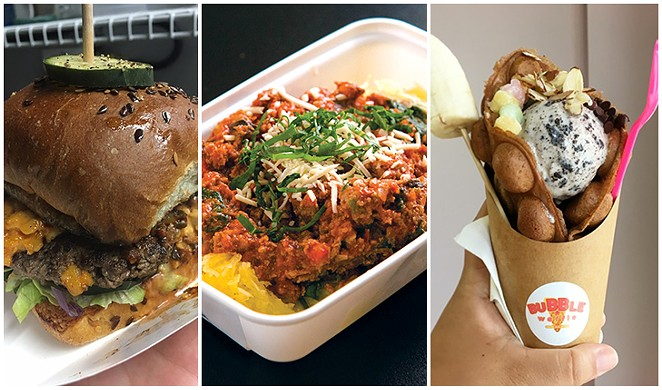 Cullum's Attaboy, Zedric's and Bubble Waffle Bar - MAURICIO GUDIÑO, DAN PAYTON, JESSICA ELIZARRARAS. COMPOSITE BY SARAH FLOOD-BAUMANN