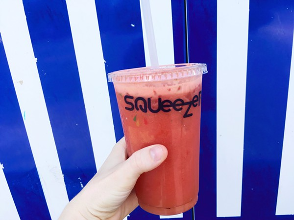 Juice up and cool down at Squeezers - HANNAH LYNN