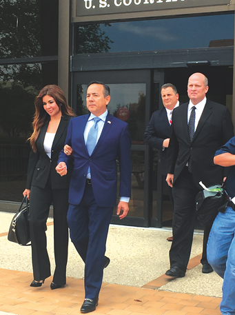 Uresti now faces multiple fraud, bribery and money laundering charges. - PHOTO BY ALEX ZIELINSKI