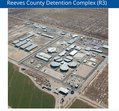 Reeves County Detention Center - SCREENSHOT, GEOGROUP.COM