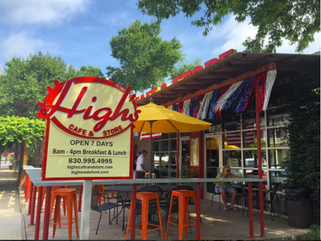 High's Cafe & Store is but one of the dining options in this quaint and increasingly hip Texas town. -  INSTAGRAM/NASIMLESS