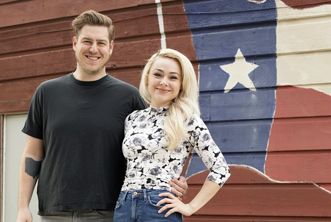 Natalie and Dave Sideserf, owners of Sideserf Cake Studio in Austin, worked with the San Antonio Zoo and the Alamo to create custom cakes for their new Food Network TV show Texas Cake House. - FOOD NETWORK