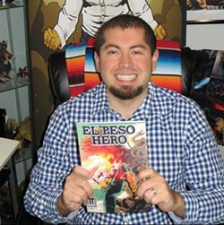 Texas Latino Comic Con co-founder Hector Rodriguez. - COURTESY