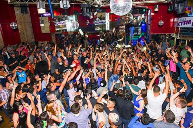 The main dance floor at the Bonham Exchange// Photo by Matt Kelley
