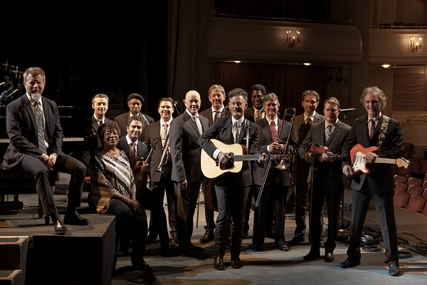 COURTESY OF LYLE LOVETT AND HIS LARGE BAND