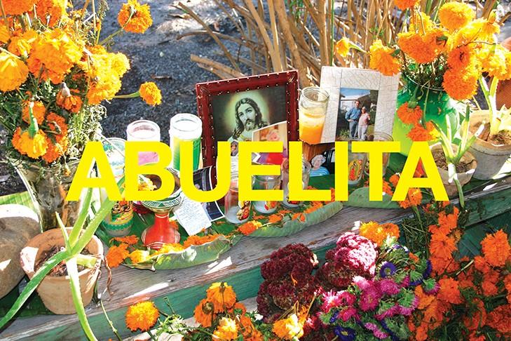 CHUCK RAMIREZ, WORDS SERIES, ABUELITA, 2004