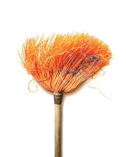 CHUCK RAMIREZ, BROOMS SERIES, UNTITLED, 2007