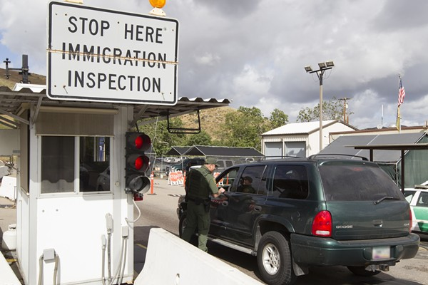 A U.S. Customs and Border Protection checkpoint in San Diego, California. - FLICKR, U.S. CUSTOMS AND BORDER PROTECTION