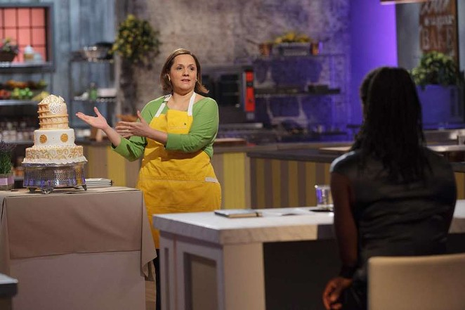 San Antonio pastry chef Susana Mijares competes on the new Food Network reality TV show Best Baker in America. - FOOD NETWORK