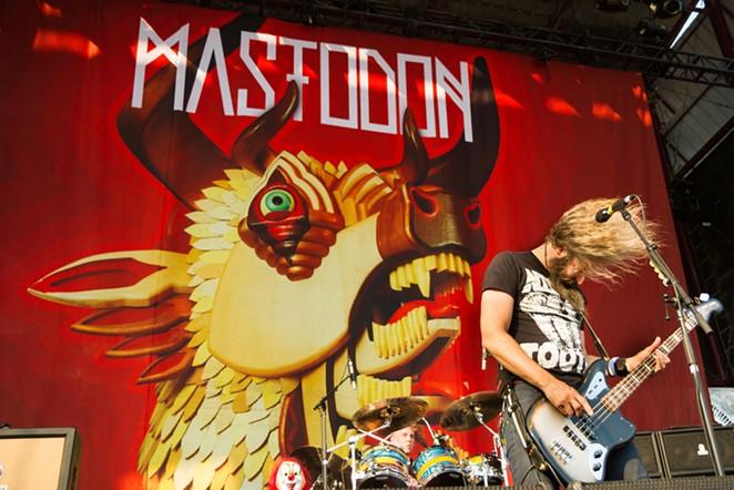 Troy Sanders at Mayhem Festival in Nampa, Idaho - TXKING/SHUTTERSTOCK.COM