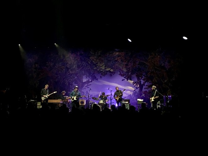 Wilco (and wistful stage set-up). - JAMES COURTNEY