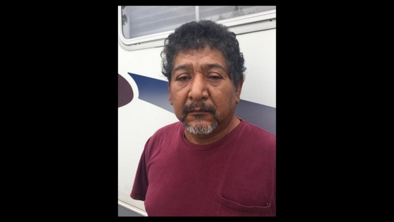 Miguel Briseno, shortly after his Wednesday arrest - BEXAR COUNTY SHERIFF'S OFFICE