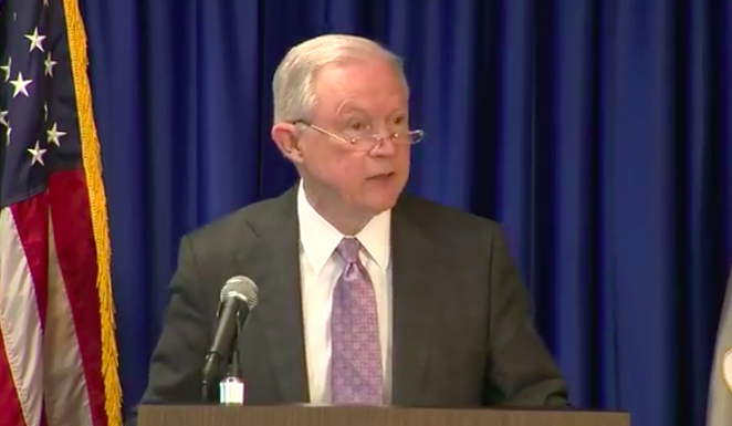 Jefferson Beauregard Sessions III,, in the flesh - FACEBOOK LIVE VIA KSAT