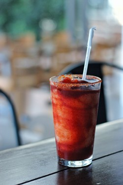 Chamoy Margarita $3.99 - DRINKING INSTAGRAM/@DRINKING.IN.SA