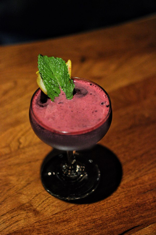 The Beet El' Juice from La Roca Cantina -  INSTAGRAM/@DRINKING.IN.SA
