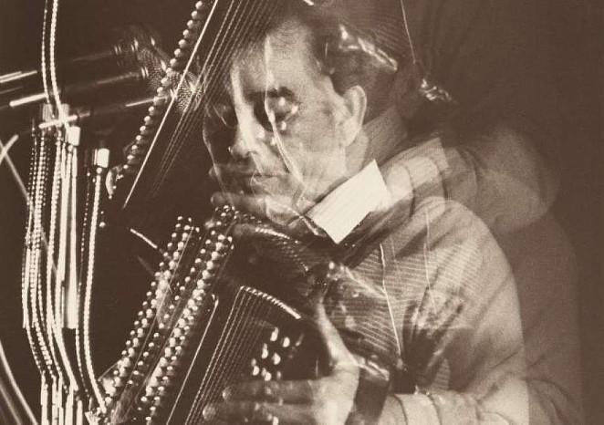 Flaco Jimenez at Blanco Ballroom - AL RENDON, NATIONAL PORTRAIT GALLERY, SMITHSONIAN INSTITUTION