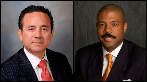 Carlos Uresti and Borris Miles - TEXAS SENATE