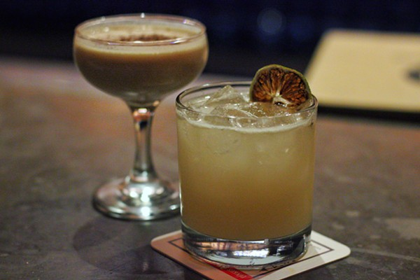 The Horchata Con Ginebra and the King Alexnader at Hoppy Monk -  INSTAGRAM/@DRINKING.IN.SA