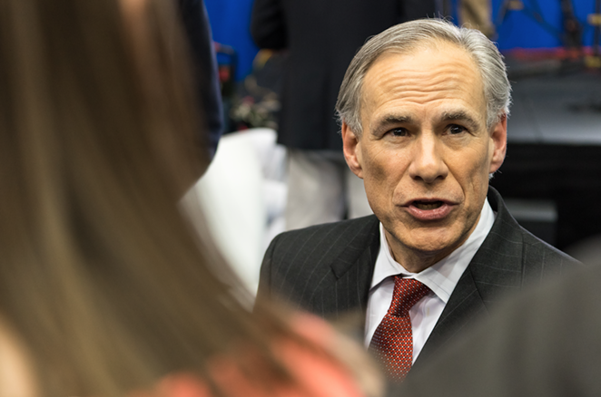 Governor Greg Abbott - SHUTTERSTOCK