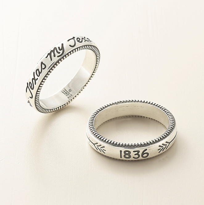 """Texas My Texas"" ring - JAMES AVERY"