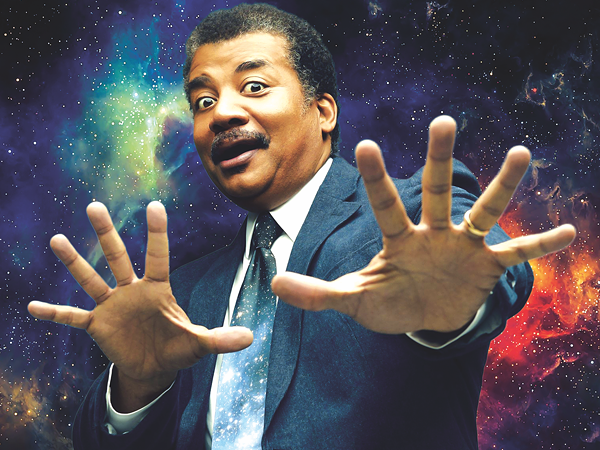 COURTESY OF NEIL DEGRASSE TYSON