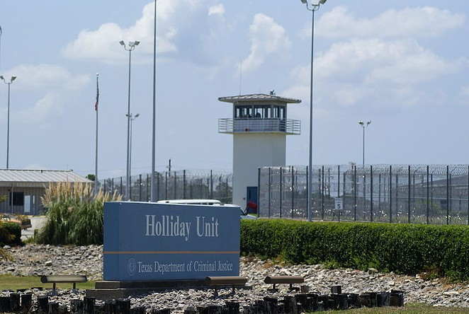 Holliday Unit is one of the TDCJ prisons where inmates have reported freezing temperatures. - WIKIMEDIA COMMONS