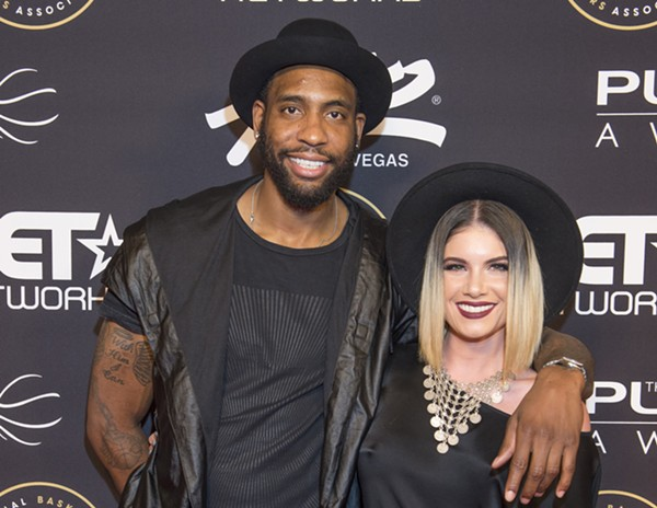 Rasual Butler and Leah LaBelle - SHUTTERSTOCK