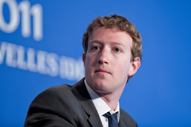Mark Zuckerberg - SHUTTERSTOCK