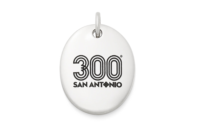 Tricentennial Commemorative Oval Charm, $60 - JAMES AVERY ARTISAN JEWELRY