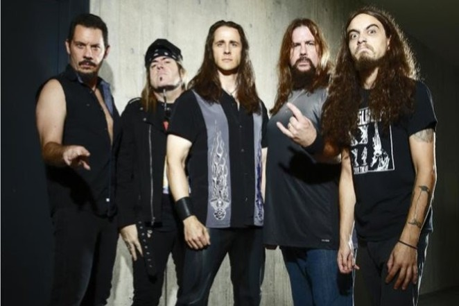 Riot V was formed from the ashes of power metal band Riot, a San Antonio favorite. - COURTESY OF NUCLEAR BLAST
