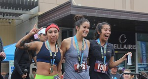 Snacks on the Run: More Races Are Blending Food, Booze and Health