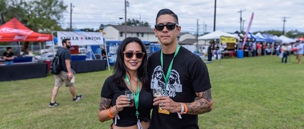 All the Beautiful People We Saw at San Antonio Beer Festival 2018