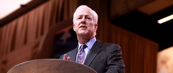 John Cornyn, who once backed Trump using defense funds for border wall, now says he opposes it