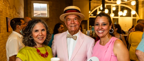 Everybody we saw at the 80th birthday party of Mike Casey, the 'Mayor of Southtown'