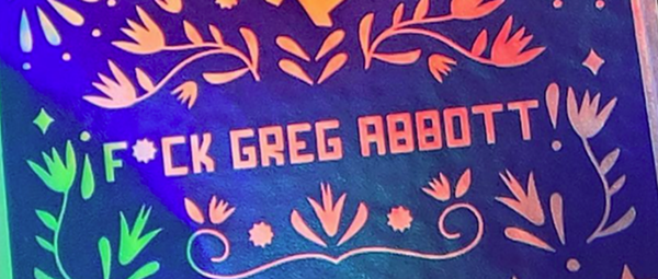San Antonio artist behind 'F*ck Greg Abbott' T-shirts hosting a party Friday with the same theme