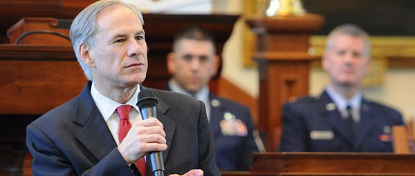 Gov. Abbott Wants Small Government, Big State