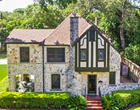 A Tudor-Style Home for Sale in San Antonio Looks Like It Belongs in the English Countryside