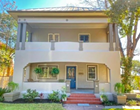 A beautifully restored home for sale in San Antonio's Monte Vista area has a breathtaking front balcony