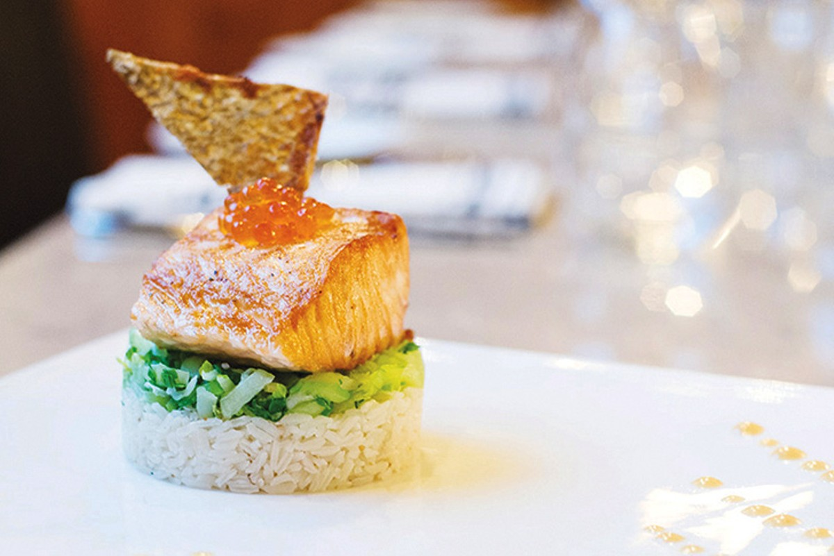 Trust your seafood to chef Chris Carlson.