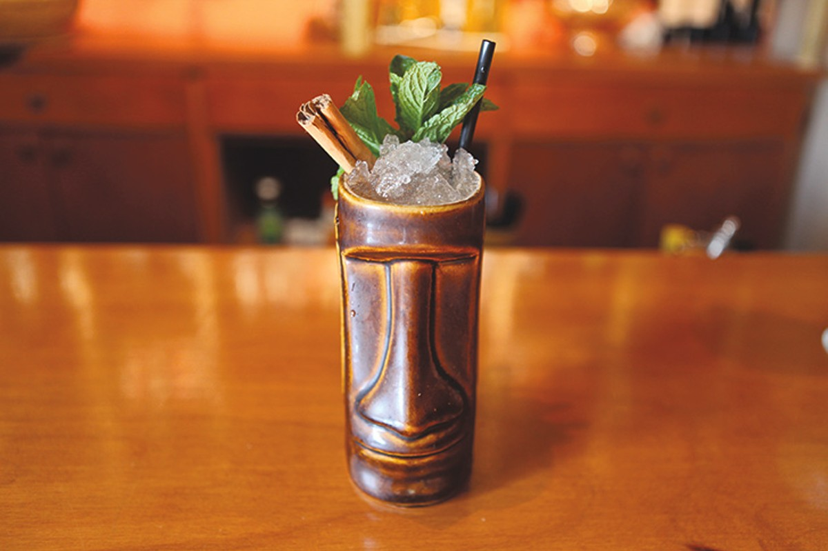 Tiki cocktails — from Brooklynite to Concrete Jungle — weren't a staple until recently .