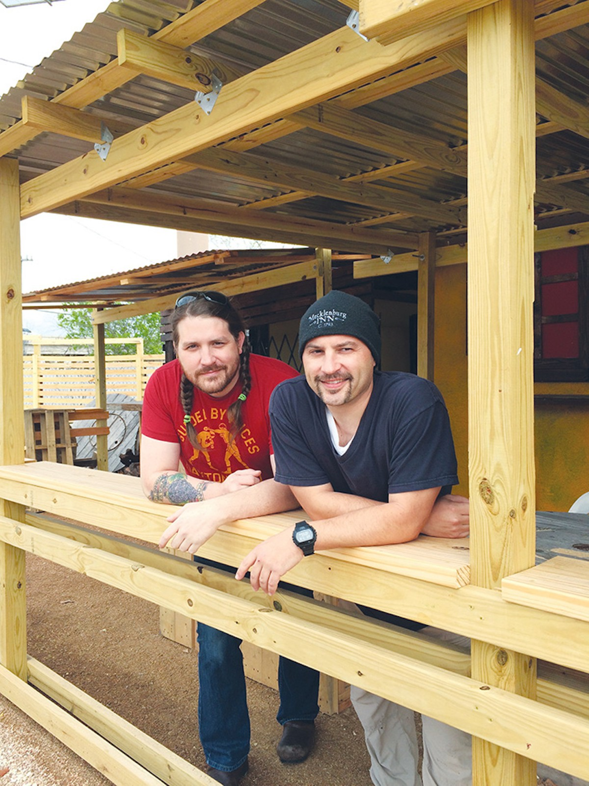 Josh Cross (left) is bringing back Oloroso.