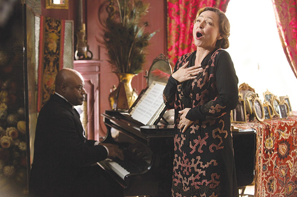 Her Majesty of the innocent and aloof: Catherine Frot as Baroness Marguerite Dumont.