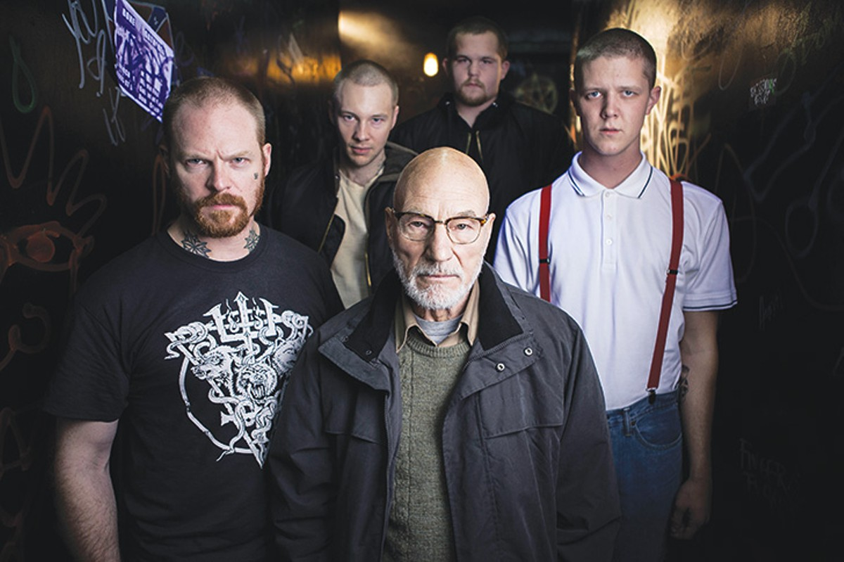 Patrick Stewart and his neo-Nazi crew