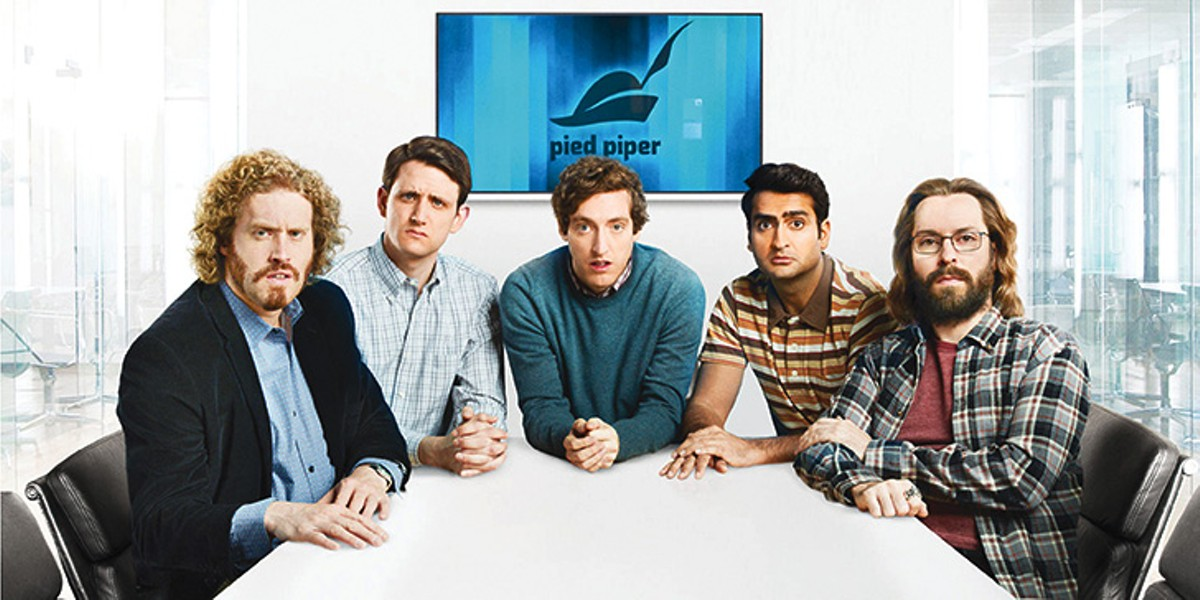 A table of the stars ofHBO's Silicon Valley