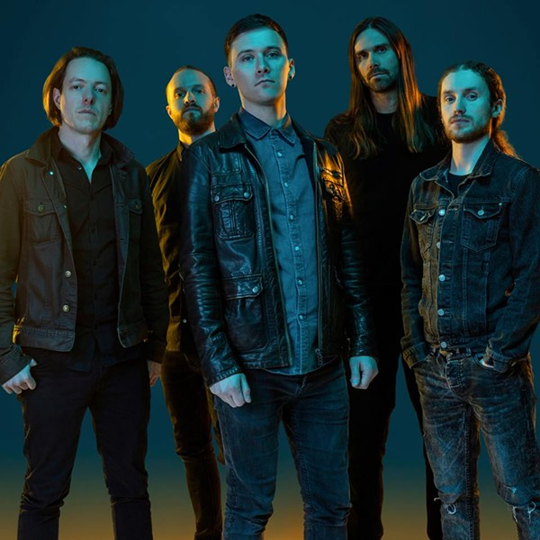 U.K.-based band Tesseract is touring to support its fourth full-length release, Sonder. - PHOTO VIA FACEBOOK / TESSERACTBAND